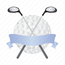 ball, game, golf, sports, stick icon