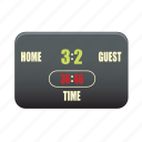 digital, electronic, equipment, scoreboard icon