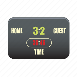 digital, electronic, equipment, scoreboard icon