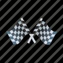achievement, award, flag, winner icon