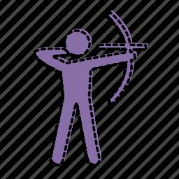 arrow, marketing, sport, target icon