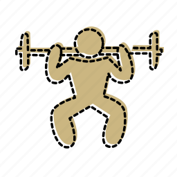 exercise, fitness, gym, health, sport icon