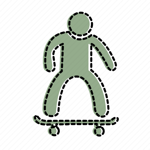 activity, fun, hobby, skate, skateboard, sport icon