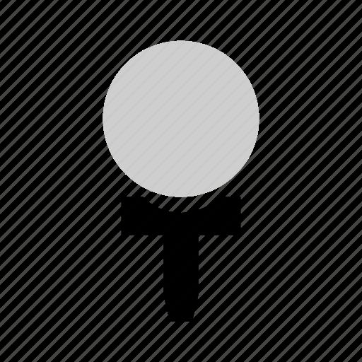background, ball, golf, illustration, isolated, white icon