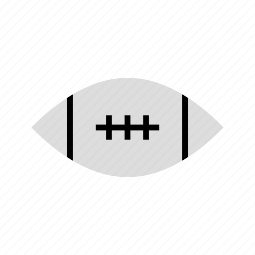 background, ball, illustration, rugby, white icon