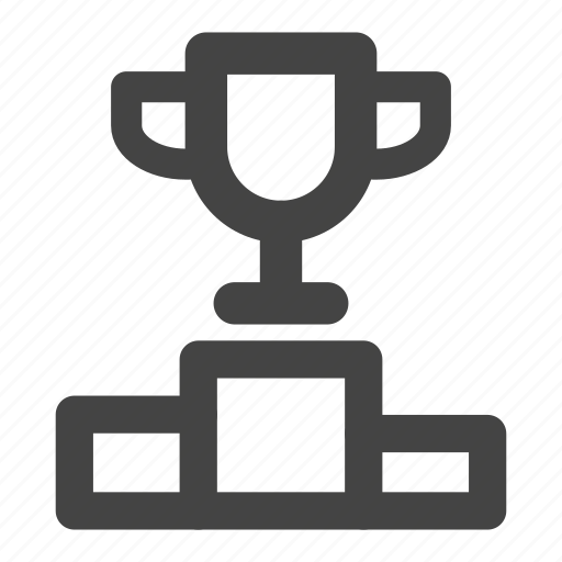award, badge, cup, first, medal, prize, winner icon