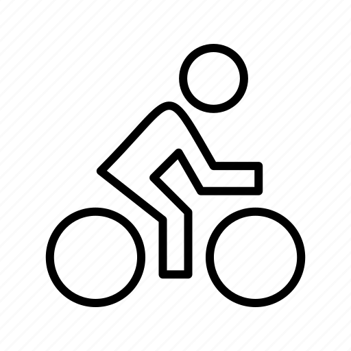 Cyclist, cycle, cycling icon - Download on Iconfinder