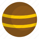 ball, circle, concept, graphic, round, sphere, stripe icon