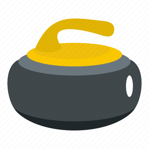 curling, ice, rink, rock, sport, stone, winter icon