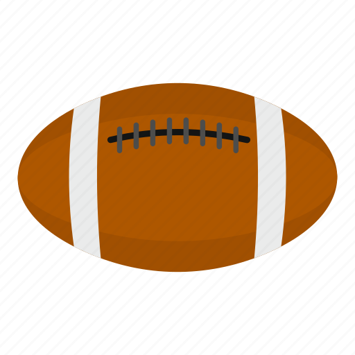 ball, football, game, rugby, sport, team, white icon