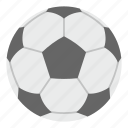 ball, football, game, goal, soccer, sport, white icon