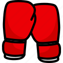 boxing, fitness, glove, gloves, sport icon