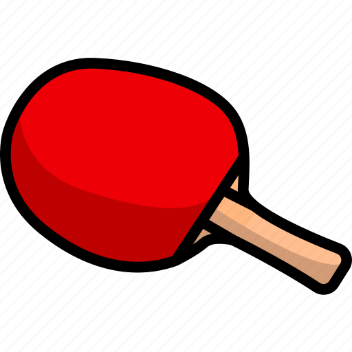 bat, fitness, game, sport, table tennis, tennis icon