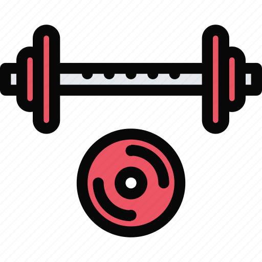 Athlete, barbell, fitness, gym, sport, training icon - Download on Iconfinder