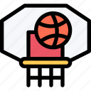 athlete, basketball, fitness, gym, hoop, sport, training icon