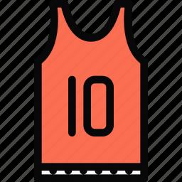 athlete, basketball, fitness, gym, sport, training, uniform icon