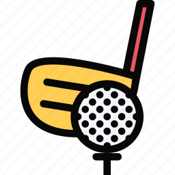 athlete, fitness, golf, gym, sport, training icon