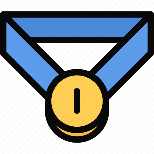 athlete, fitness, gym, medal, sport, training icon