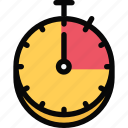 athlete, fitness, gym, sport, stopwatch, training icon