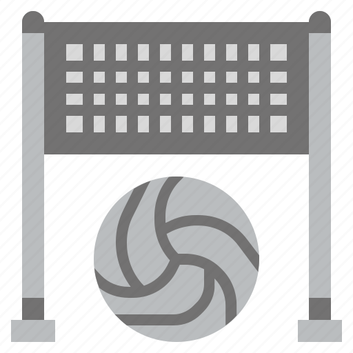 beach, net, sport, sports, summertime, sunny, volleyball icon