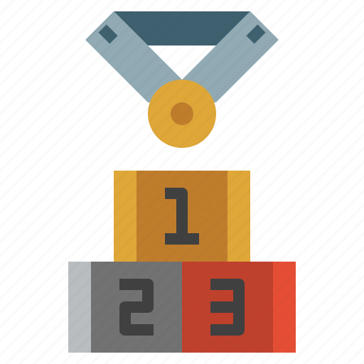 best, games, olympic, podium, position, sports, winners icon