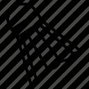 shuttlecock, badminton, birdie, sport, game
