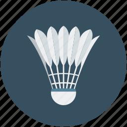 badminton, flower, game, play, sport icon