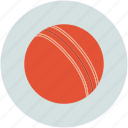 ball, cricket, game, leather, sports icon