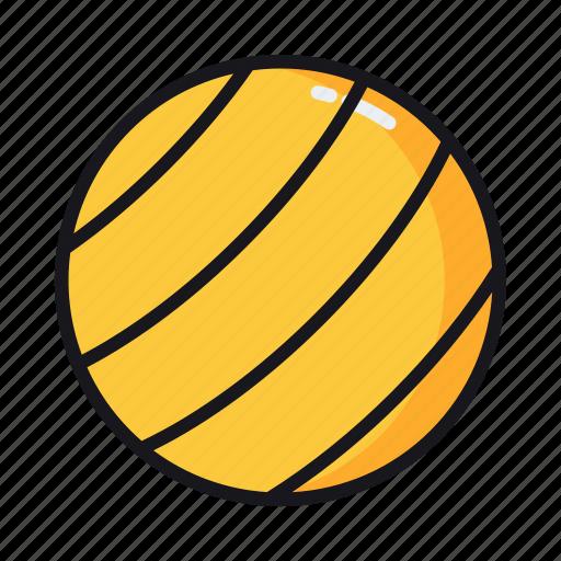 ball, exercise ball, volleyball icon