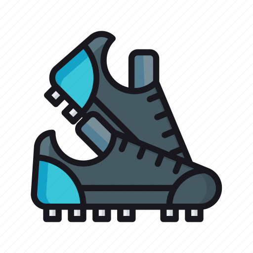 football shoes, footwear, shoes, sneakers, sport shoes icon