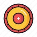disc, frisbee, sport disc icon
