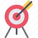 aim, arrow, equipment, extreme, fitness, sport, training icon