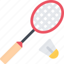 badminton, equipment, extreme, fitness, sport, training icon