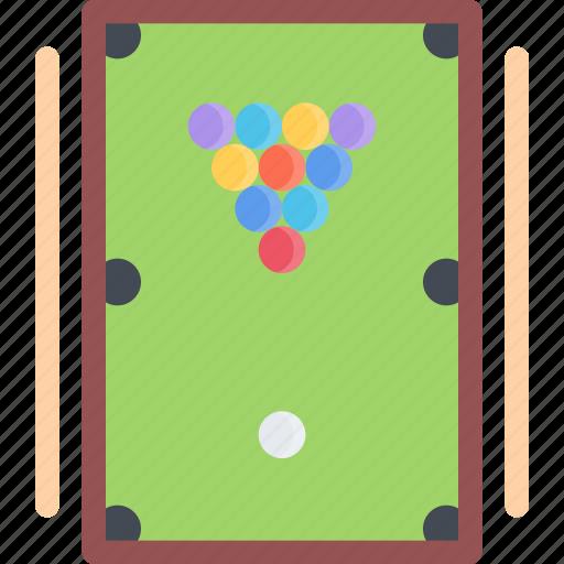 billiards, equipment, extreme, fitness, sport, training icon