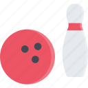 bowling, equipment, extreme, fitness, sport, training icon