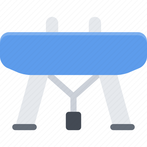 equipment, extreme, fitness, gymnastic, horse, sport, training icon