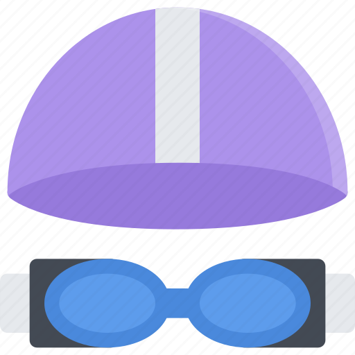 equipment, extreme, fitness, goggles, sport, swimming, training icon
