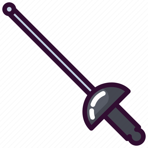 fencing, olympic, sport, sword icon