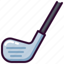 club, golf, sport, stick icon