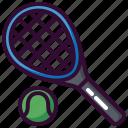ball, racket, sport, tennis, tennis ball icon