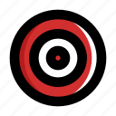 aim, archery, game, sport, target icon