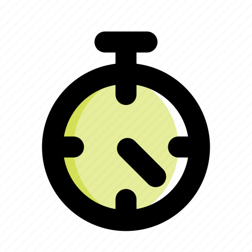 sport, stopwatch, time, timer, training icon