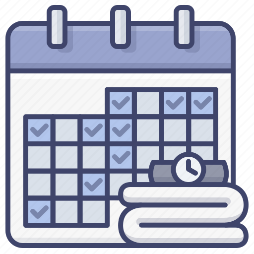 Calendar, exercise, plan, schedule icon - Download on Iconfinder