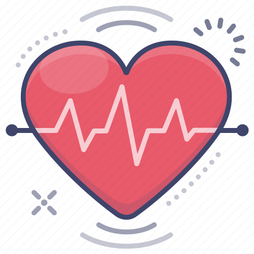 Heart, heartbeat, pluse, rate icon - Download on Iconfinder