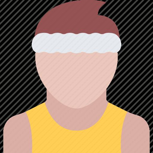 athlete, fitness, gym, sports, training icon