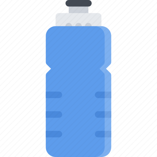 athlete, bottle, fitness, gym, sports, training, water icon