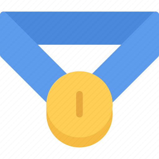 athlete, fitness, gym, medal, sports, training icon