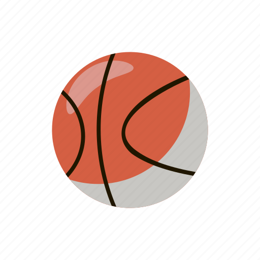 ball, basketball, cartoon, competition, professional, sport, team icon