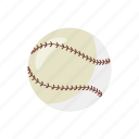 ball, baseball, cartoon, equipment, game, play, sport icon