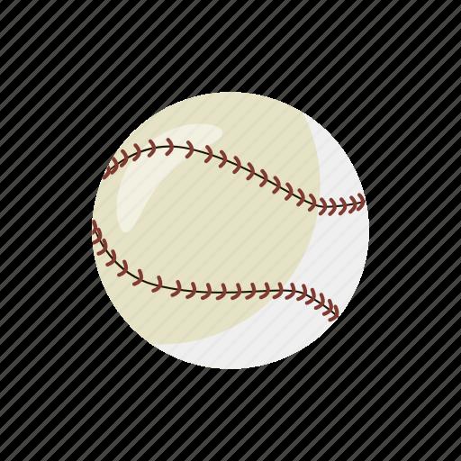 ball, baseball, cartoon, equipment, game, play, sport icon
